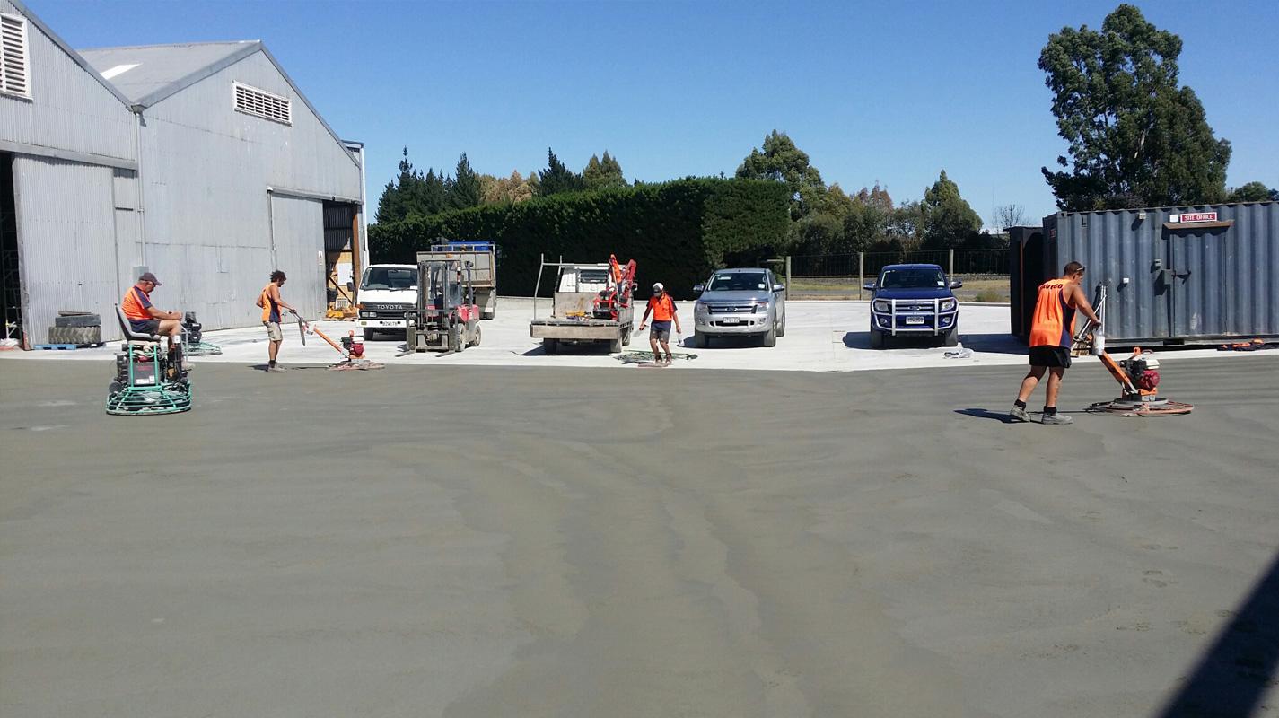 Paveco Concrete - Commercial Service Yard 2