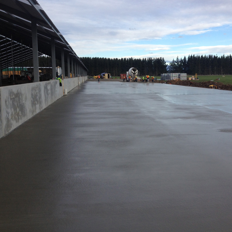 Paveco Concrete - Rural Feed Pads 2
